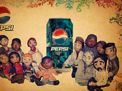 CLAY PEPSI WORLD от Chiranjit Ghosh
