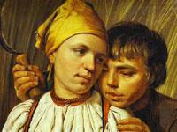 Проникновенная лиричность портретов кисти художника Венецианова