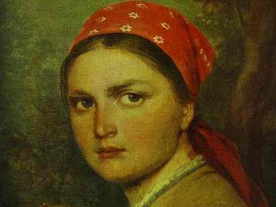 Girl with the Birchen Basket