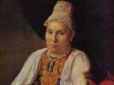 Portrait of the Merchant's Wife Obraztsova