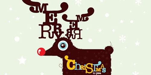 Перейти на Christmas Card By Typozon