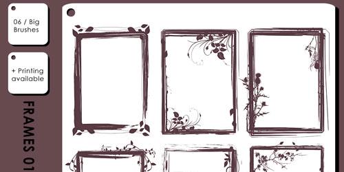 Скачать Grungy Frames 01