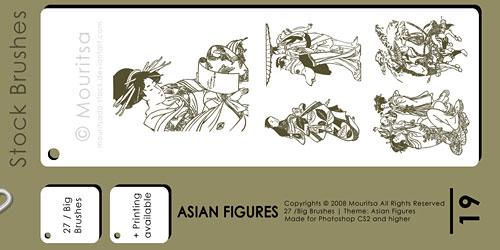 Скачать Asian Figures