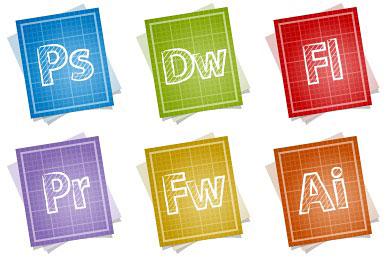 Скачать Blueprint Adobe Icons