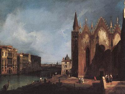 The Grand Canal near Santa Maria della Carita