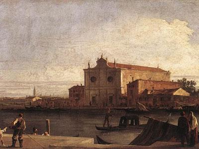 View of San Giovanni dei Battuti at Murano