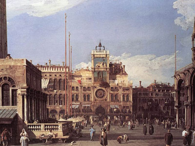 Piazza San Marco: the Clocktower