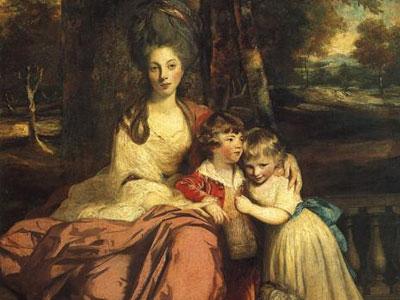 Lady Elizabeth Delme and Her Children