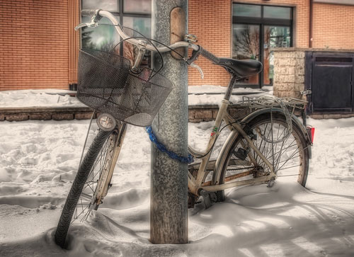 Перейти на Bike In The Snow
