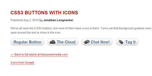 Перейти на Кнопки с иконками