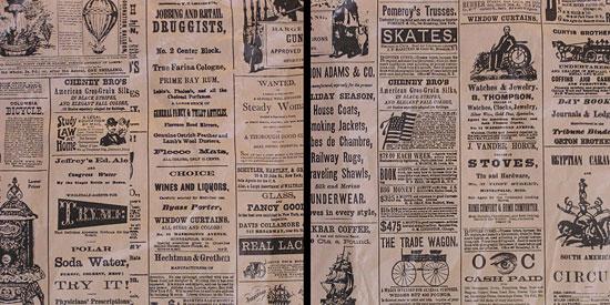 Скачать Vintage newspaper