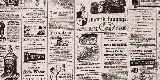 Скачать Old newspaper texture