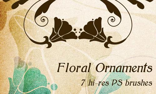 Скачать Floral Ornaments