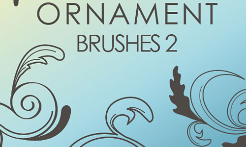 Скачать Ornament Brushes 2