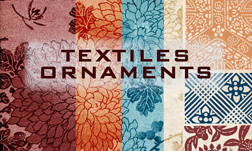 Скачать textiles ornaments 18 brushes