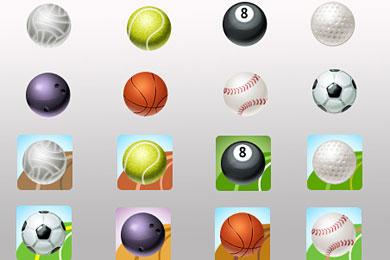 Скачать Sport Ball Icons