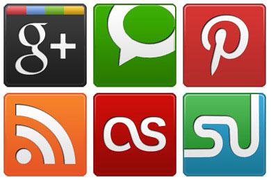 Скачать Social 1 Icons