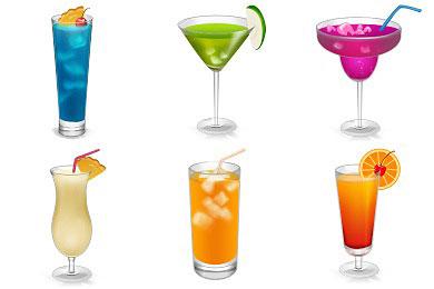 Скачать Drinks Icons