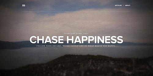 Перейти на Chase Happiness