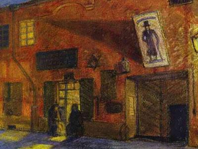 Vilna. Nocturnal Scene