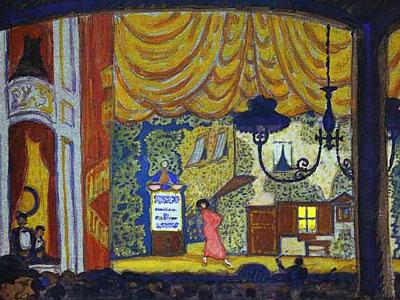 Denmark. A Small Theatre