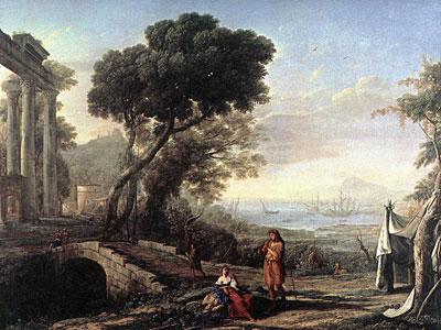 Italian Coastal Landscape