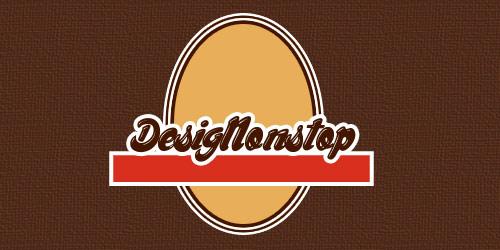 Создаем в фотошопе оригинальный логотип в виде этикетки