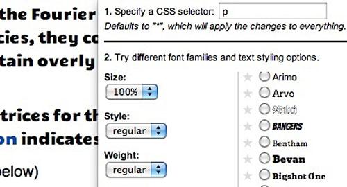 Перейти на Google Font Previewer