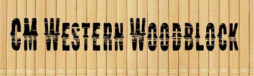 Cm Western Woodblock