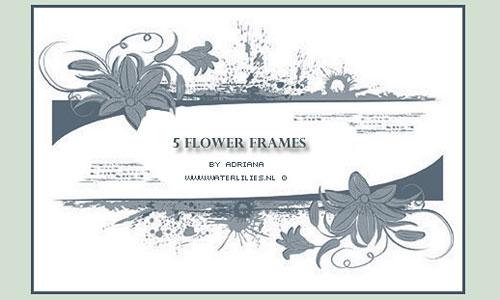 Скачать Flower Frames