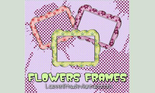 Скачать Flowers Frames