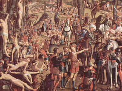 The Crucifixion and the Glorification