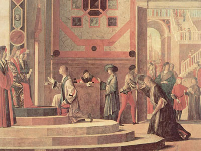 The Departure of the English Ambassadors