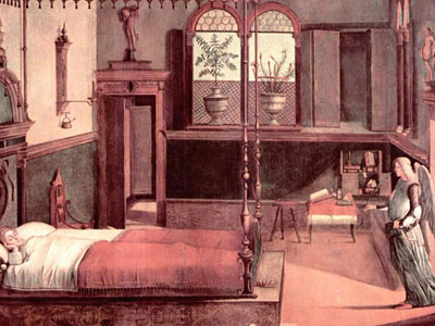 Dream of St.Ursula