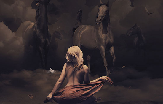 Цифровая экспрессия от иллюстратора David Delin из Франции