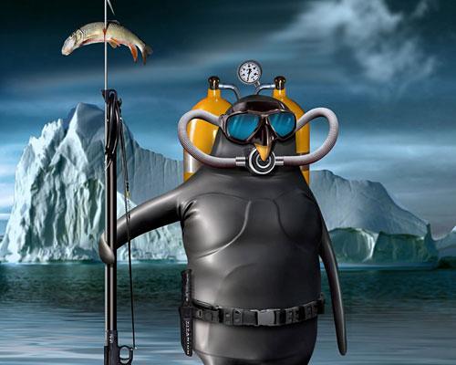 Перейти на Penguin Diver