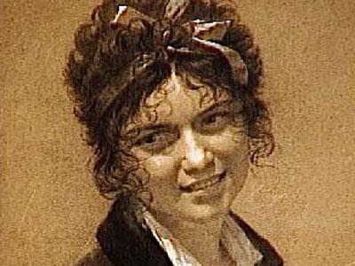 Portrait of Marie-Francoise Constance Mayer-La Martiniere