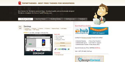 Перейти на Top Wp Themes