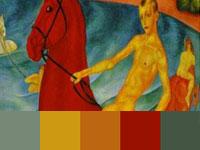 20 готовых цветовых палитр с колоритных картин Петрова-Водкина