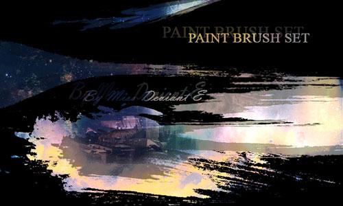 Скачать Paint Brush set