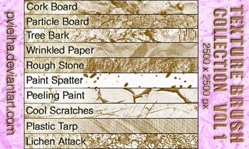 Скачать Texture Brush Collection Volume 1
