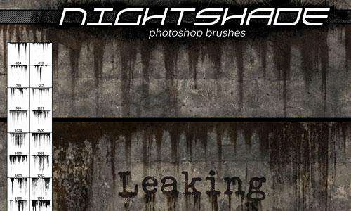 Скачать Nightshade leaking brushes