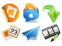 Скачать бесплатно 20 наборов разнообразных иконок за июнь