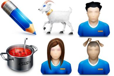 Скачать Livejournal 10 Icons By Turbomilk