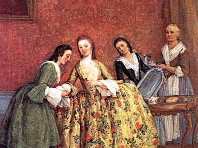 Утро венецианской дамы