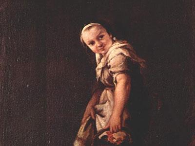 Пастушка с корзиной
