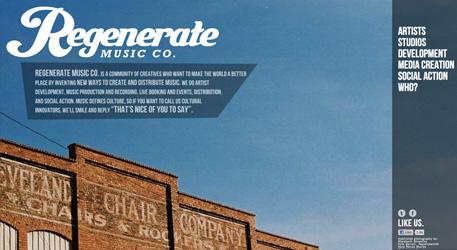 Перейти на Regenerate Music Company