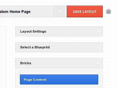Перейти на Bricklayer Visual Layout