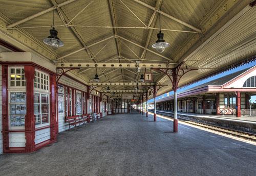 Перейти на Aviemore Station