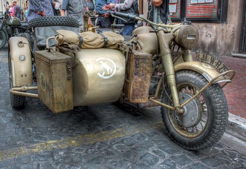 Перейти на Sidecar Bmw R75